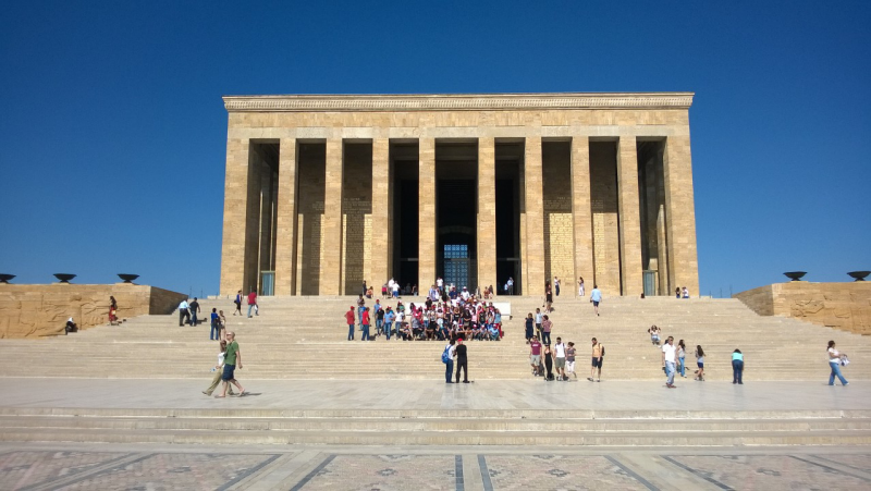 Mausoleum of Ataturk in Ankara